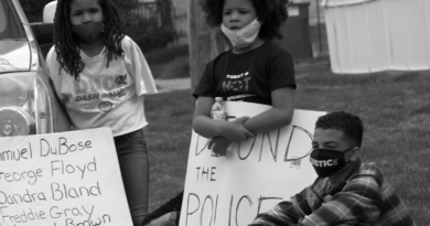 Community of Champaign-Urbana Protest for Stopping Violence